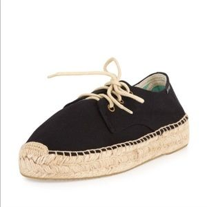Soludos Lace-Up Espadrille Derby Flat